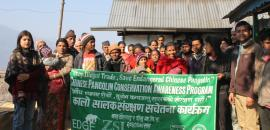 Community-based Pangolin Conservation, Nepal