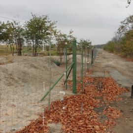 New Park fence constructed by IFAW at Chikolongo