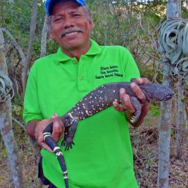 Gilberto Salazar, Heloderma Natural Reserve & Zootropic forest guard