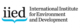 The International Institute for Environment and Development (IIED)