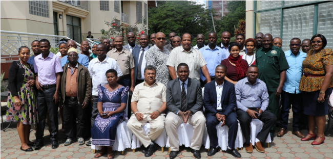 Participants of the 4th National CBNRM Forum. Credit: TNRF.